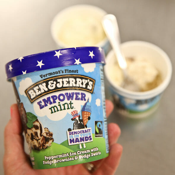 Empowermint Ben and Jerry's