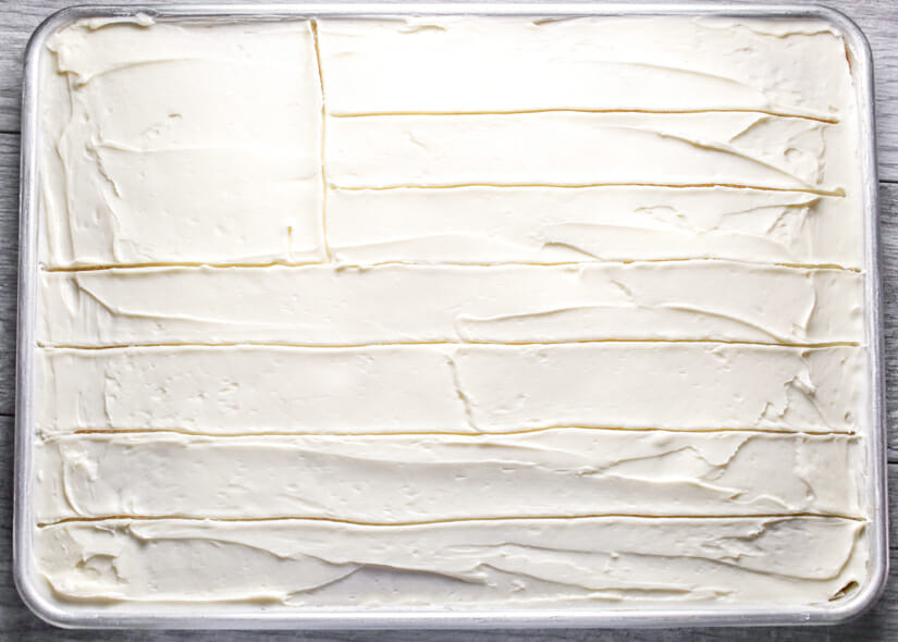 white texas sheet cake-6