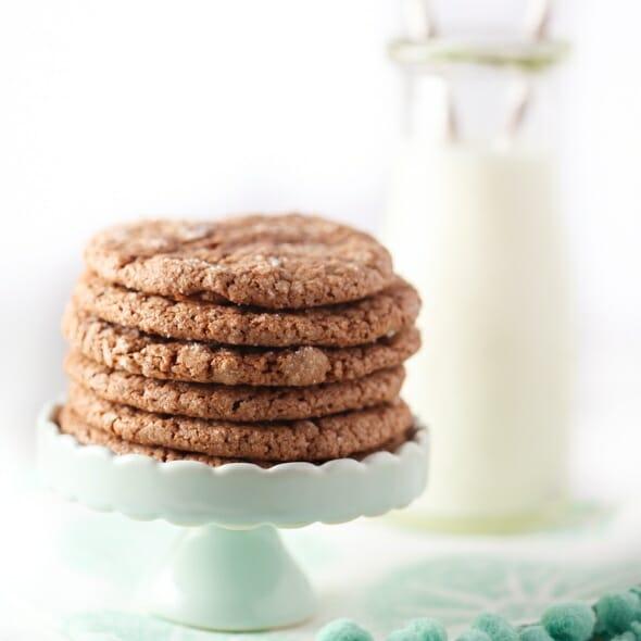 Ultimate Chocolate Crinkle Cookies