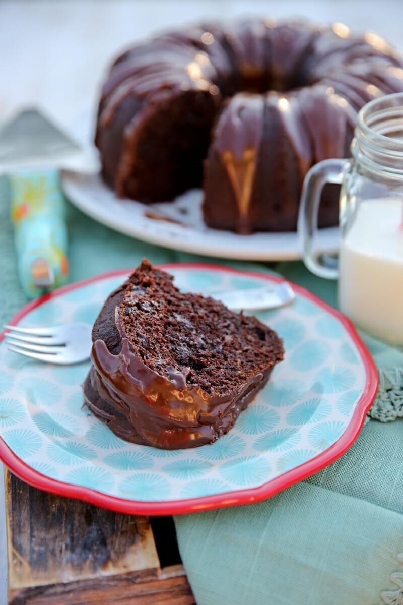 The best chocolate zucchini bunt cake