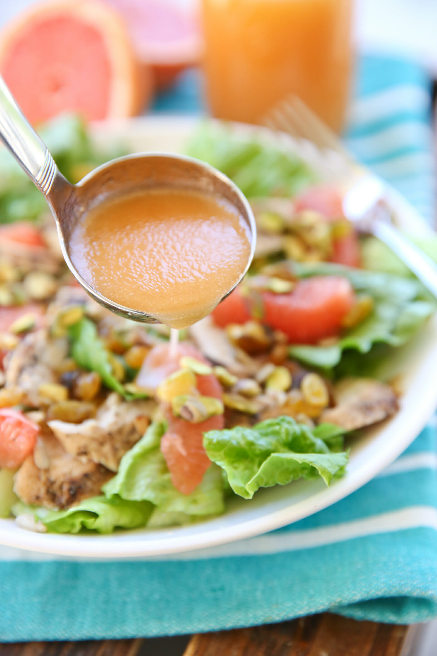 Fresh Grapefruit Vinaigrette
