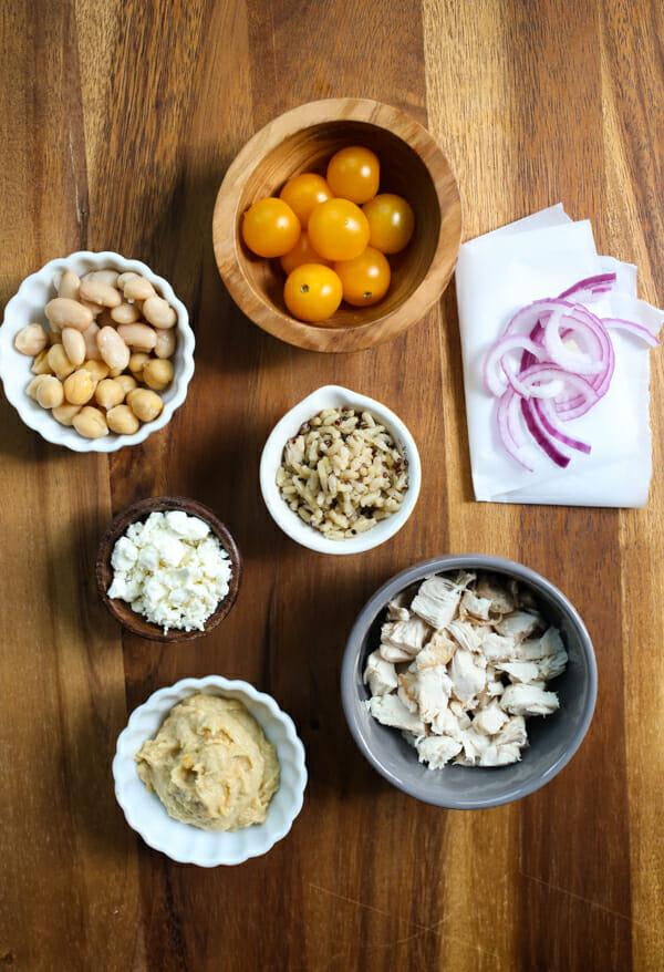 Wendy's Copycat Mediterranean Power Salad