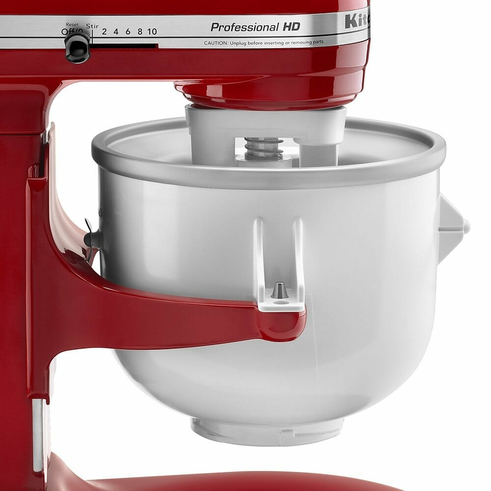 kitchenaid ice cream mixer