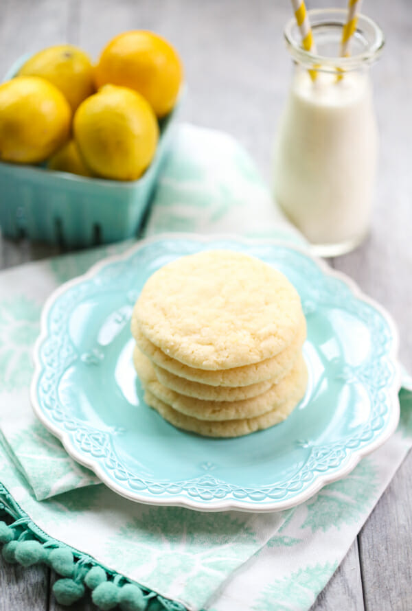 Easy Lemon Sugar Cookies from Our Best Bites