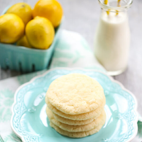 Easy Lemon Sugar Cookies