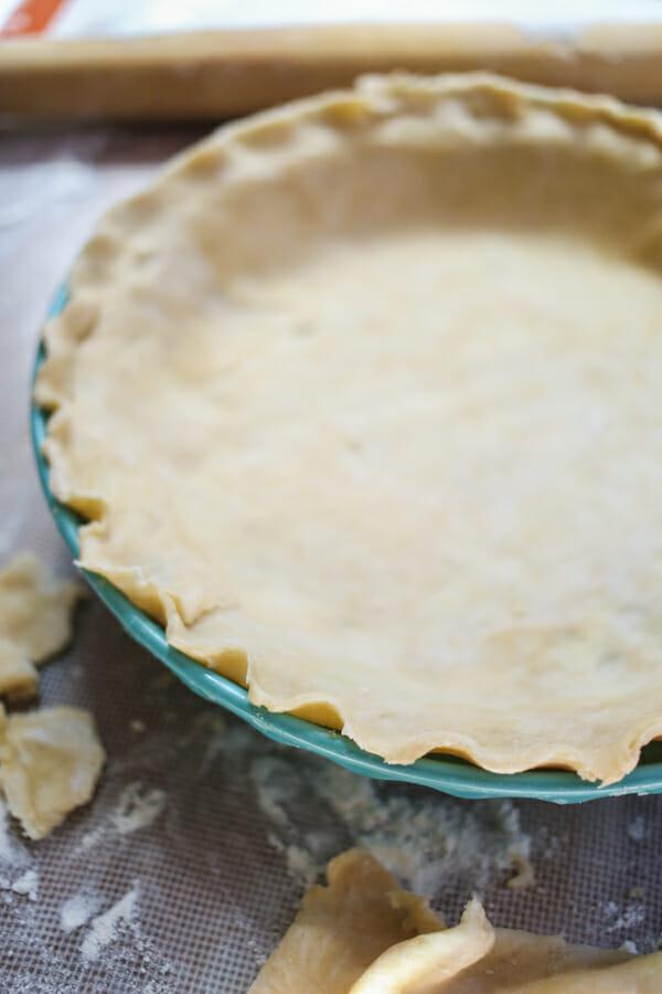 peppermint french silk pie-9