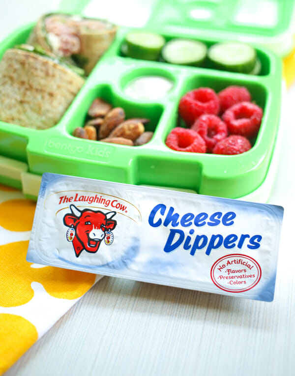 Laughing Cow Cheese Dippers are perfect for lunch boxes and after school snacks!