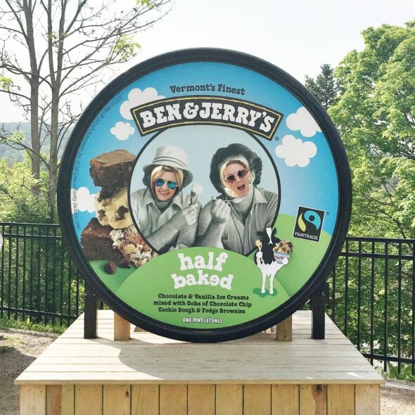 Burlington, Vermont with Ben & Jerry's