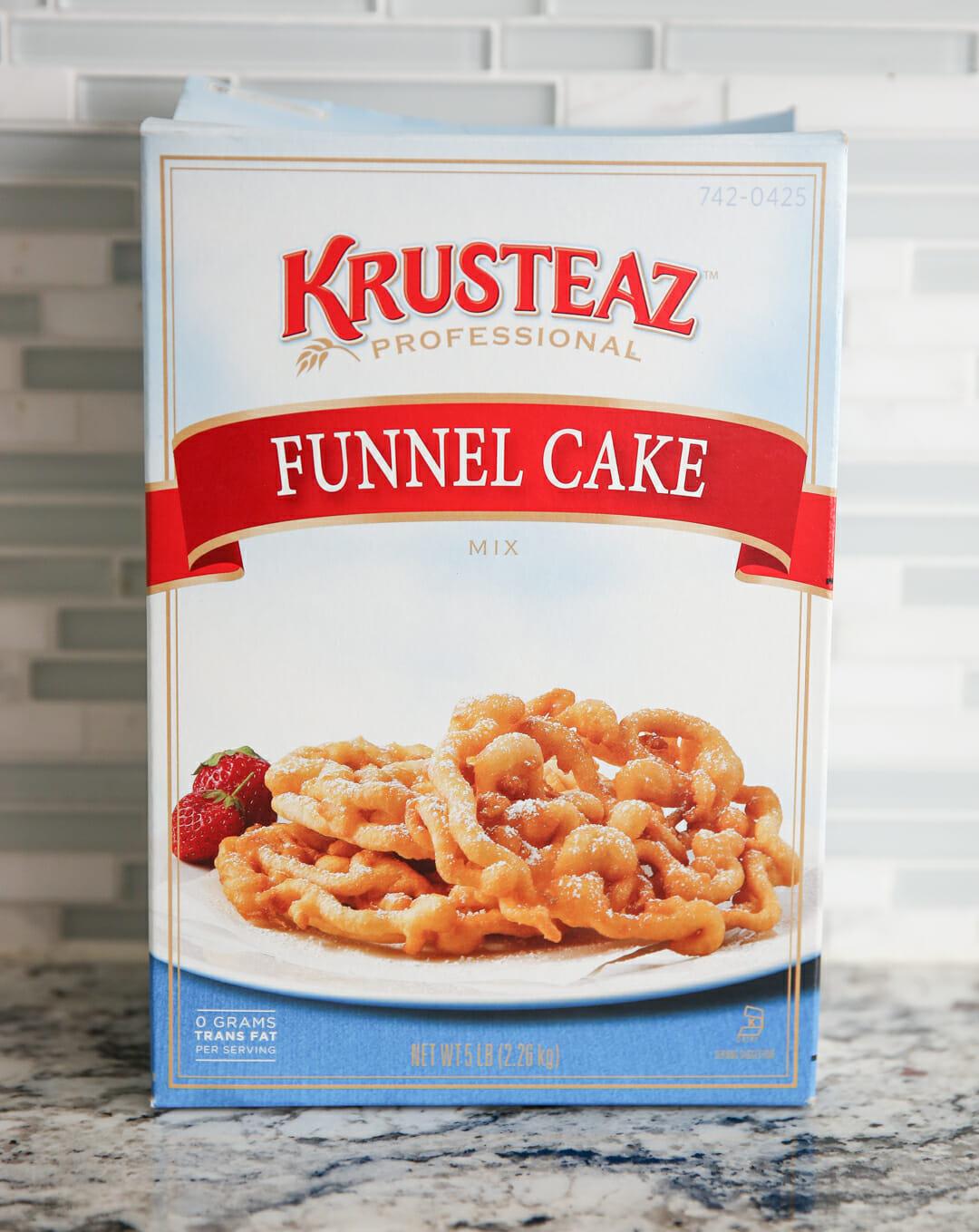 Easy Funnel Cake Batter Recipe