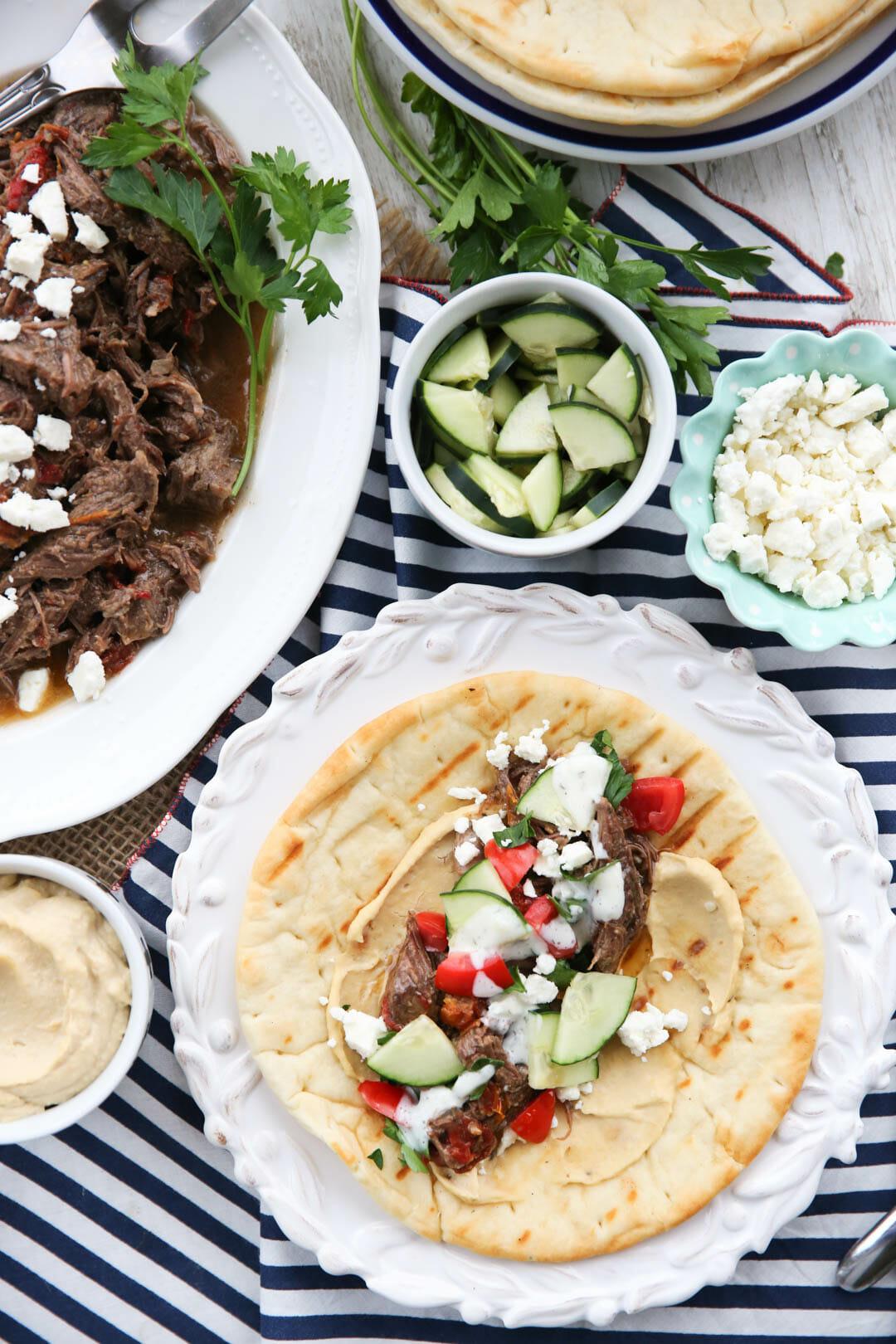 Greek Style Pot Roast