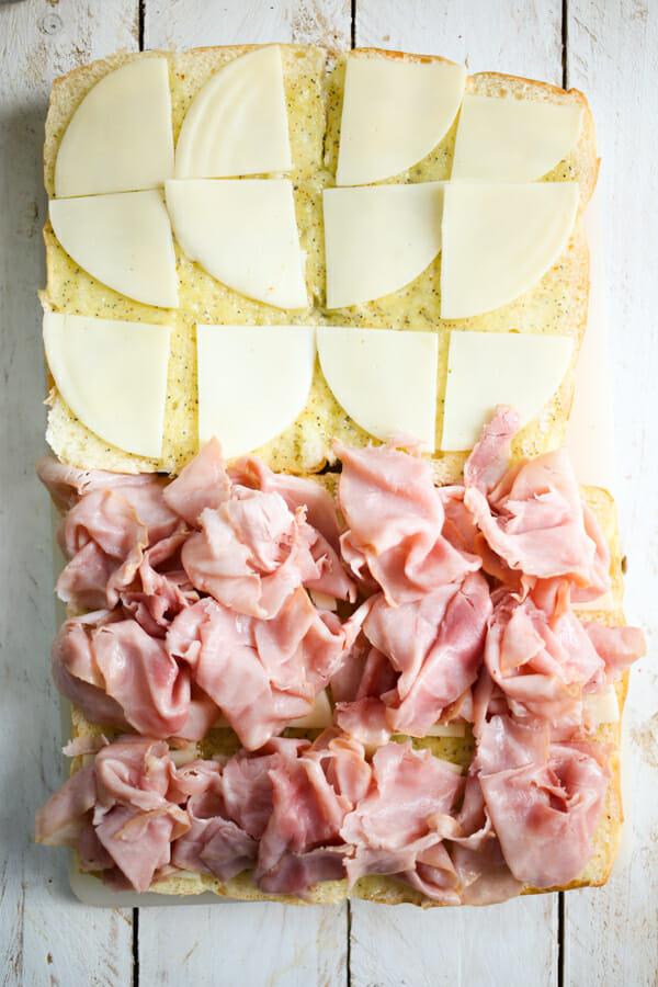 hawaiian ham and cheese sliders-8