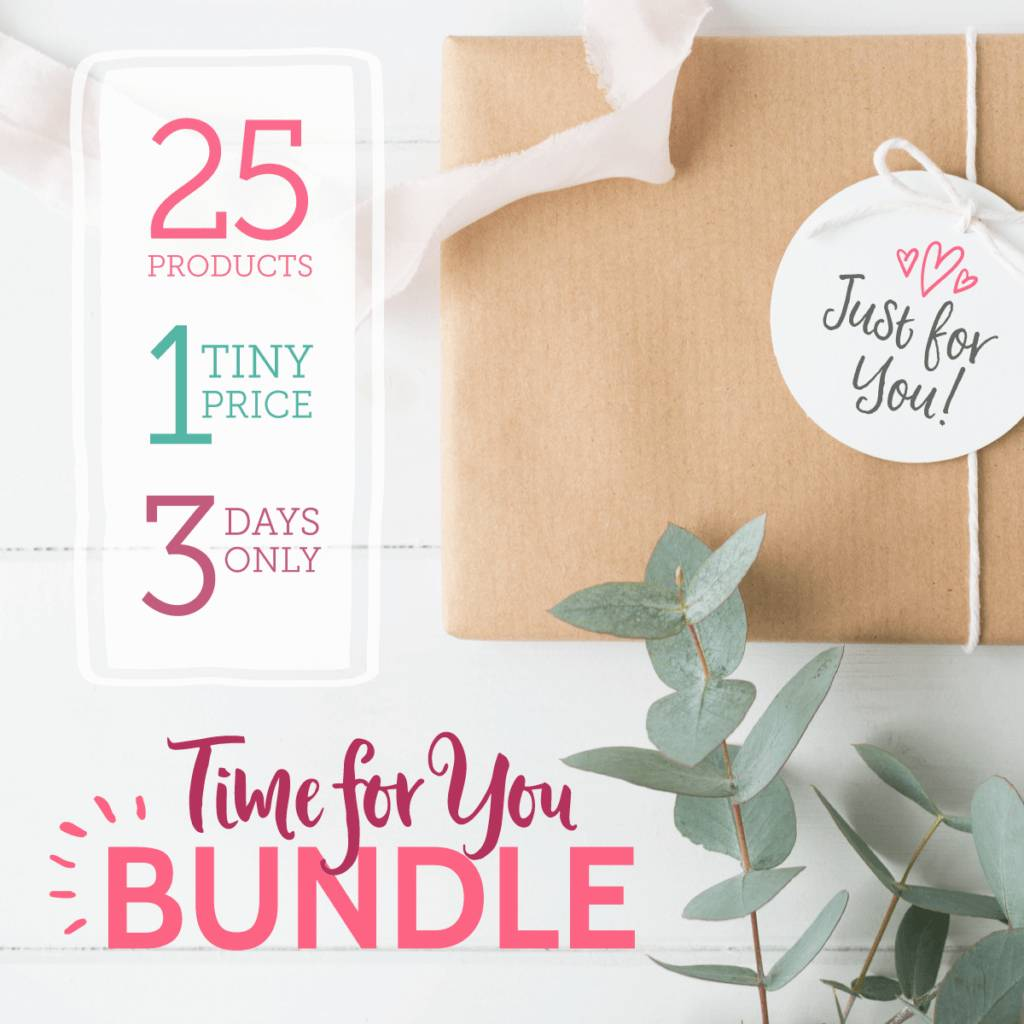 """Announcing…the """"Time for You"""" Bundle!"""