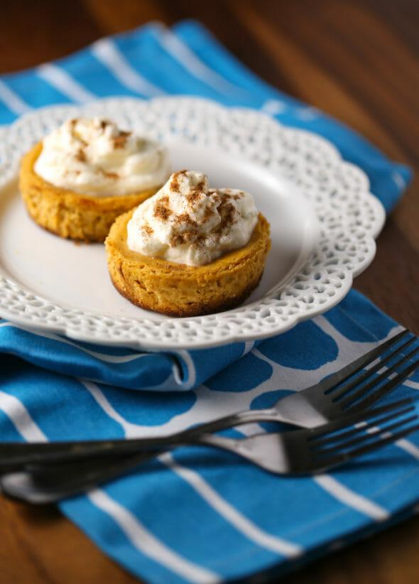 Our Best Bites Mini Pumpkin Tarts