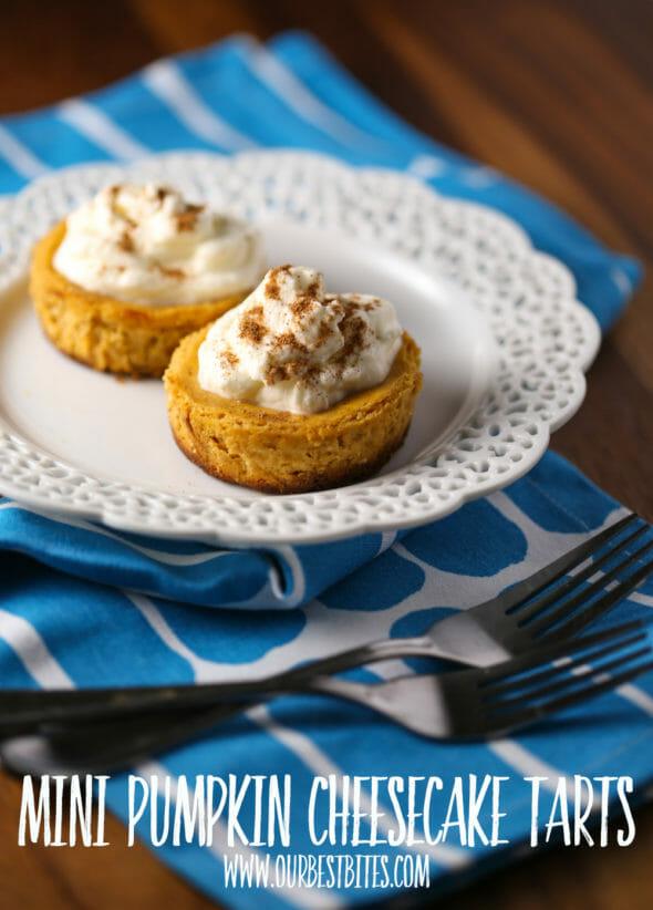 Mini Pumpkin Tarts from Our Best Bites