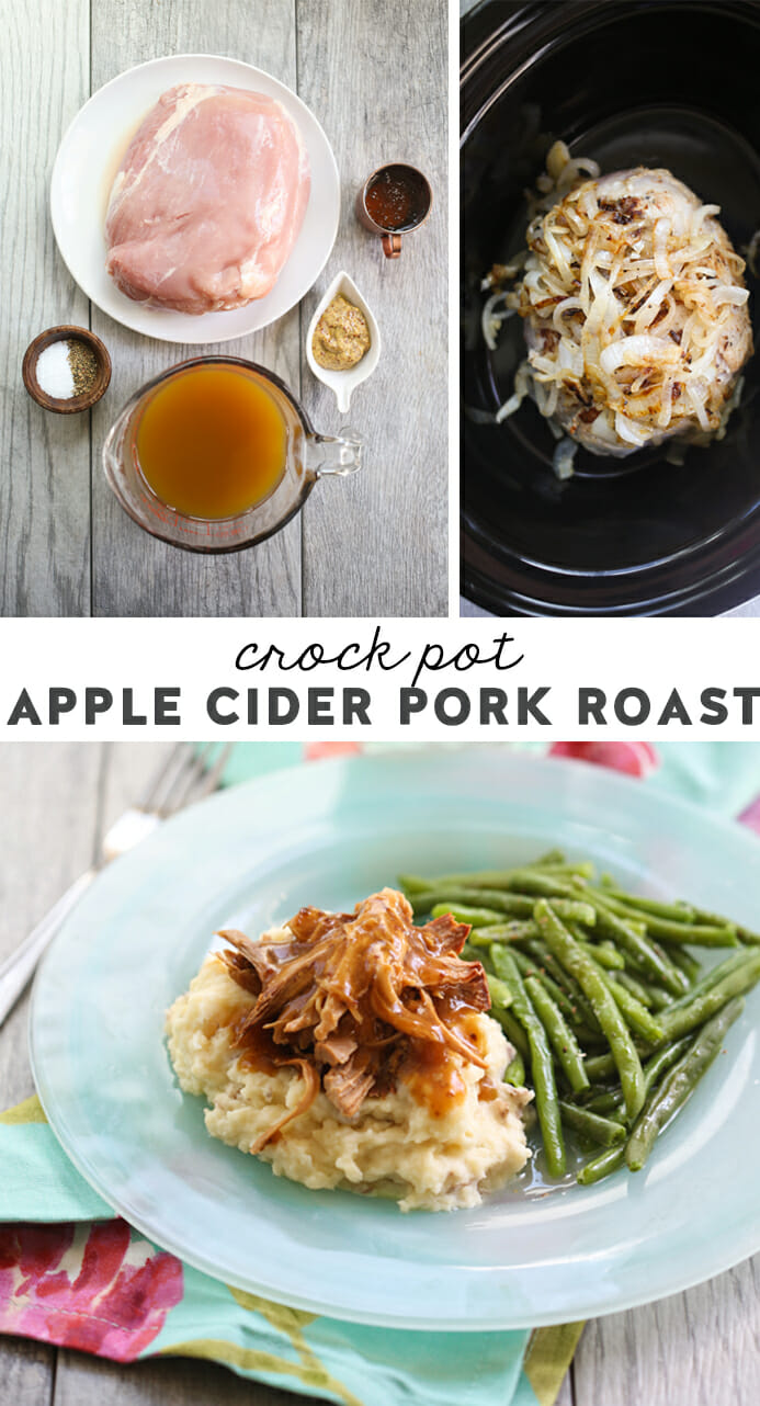 Crock Pot Apple Cider Pork Roast 9