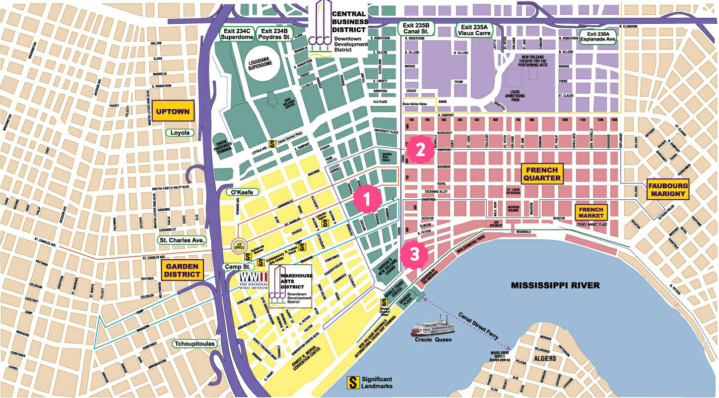 New Orleans Map copy
