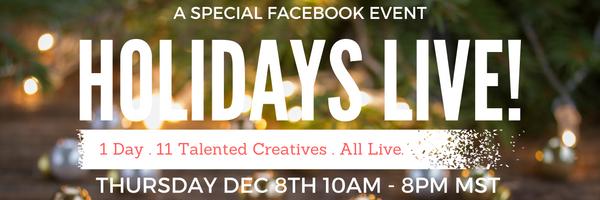 Holidays live Facebook Event