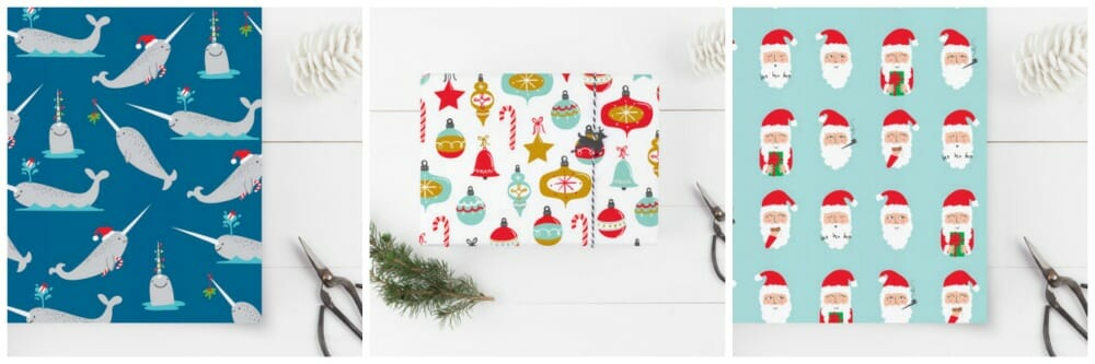 Holiday Custom Wrapping Paper