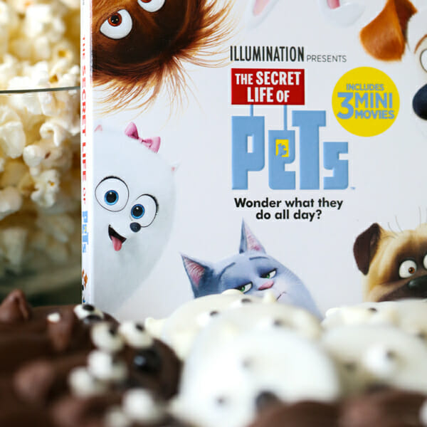 The Secret Life of Pets: Easy Character Cookies + Printable Drink Labels