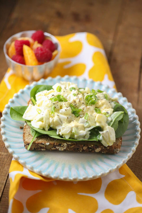 Egg Salad for One-5