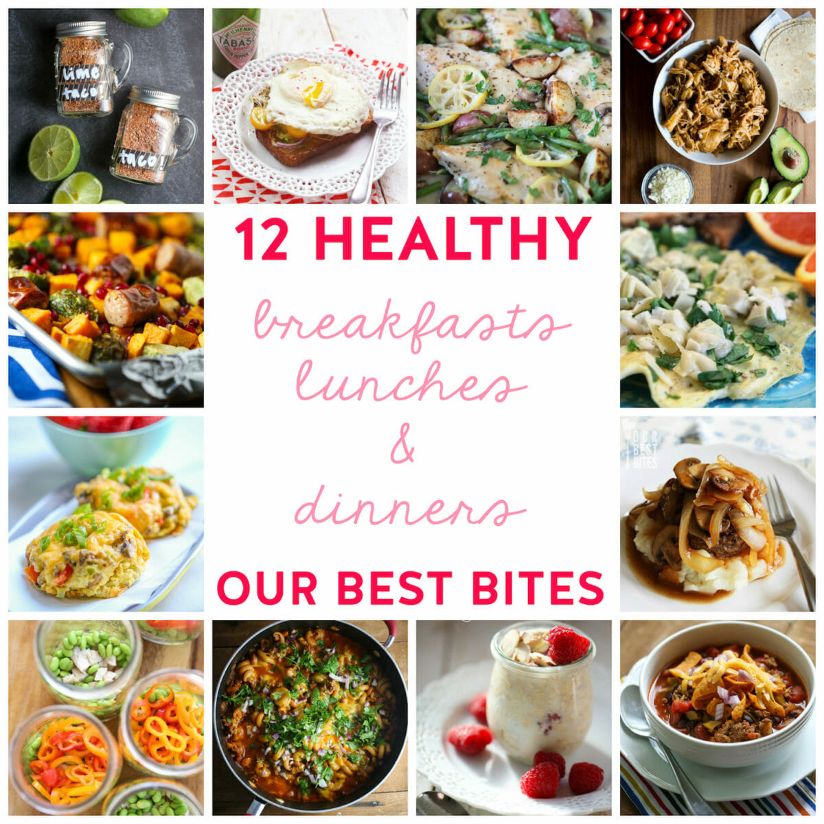 12 Healthy Family-Friendly Recipes