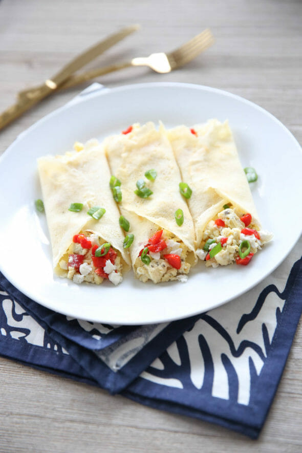 Flashback Friday: Mediterranean Feta Egg Wraps