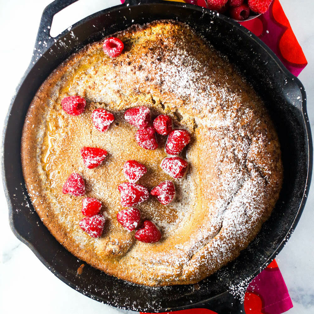 Chocolate German Pancake