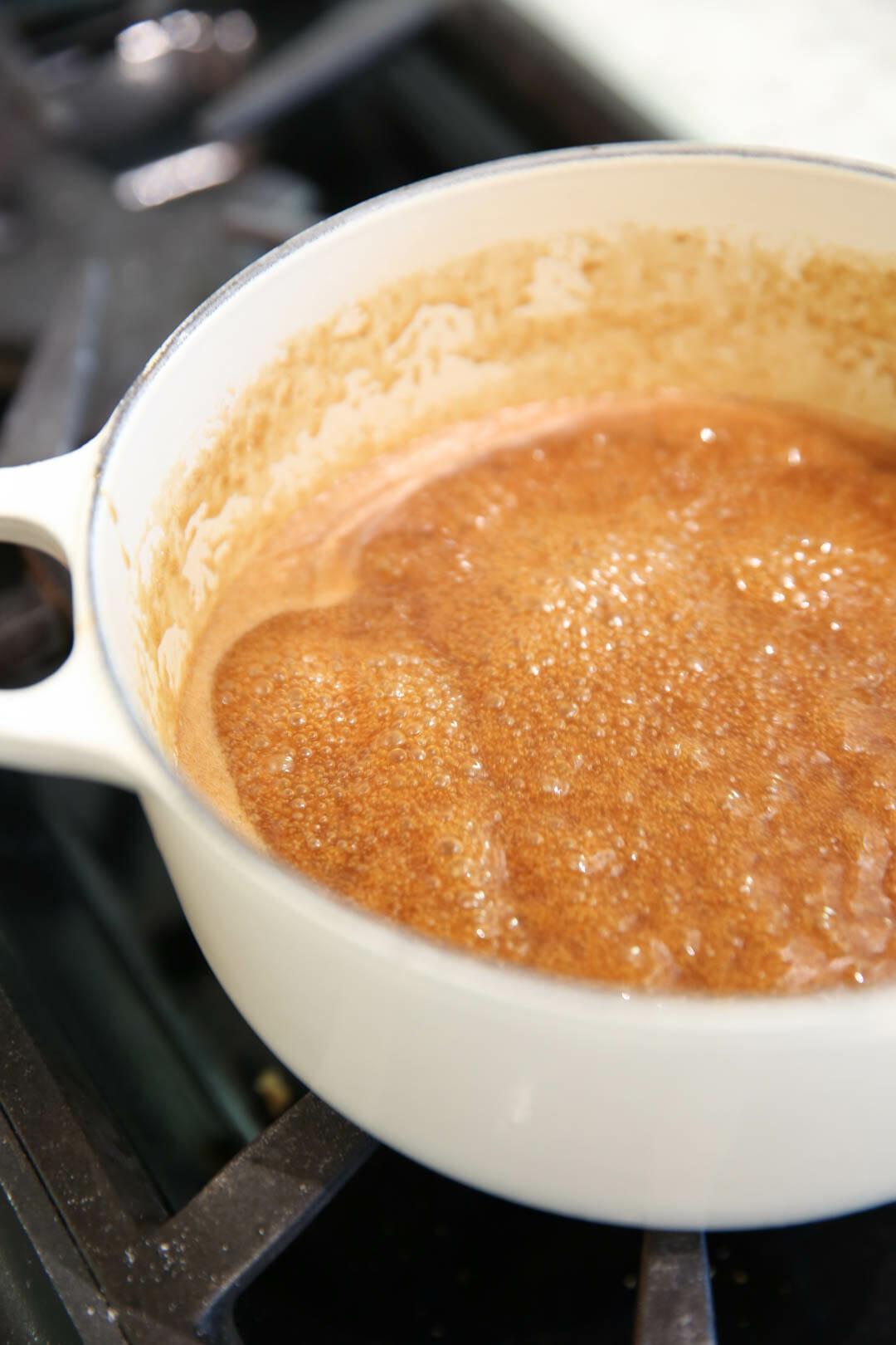 Easy Homemade Caramel Sauce Recipe