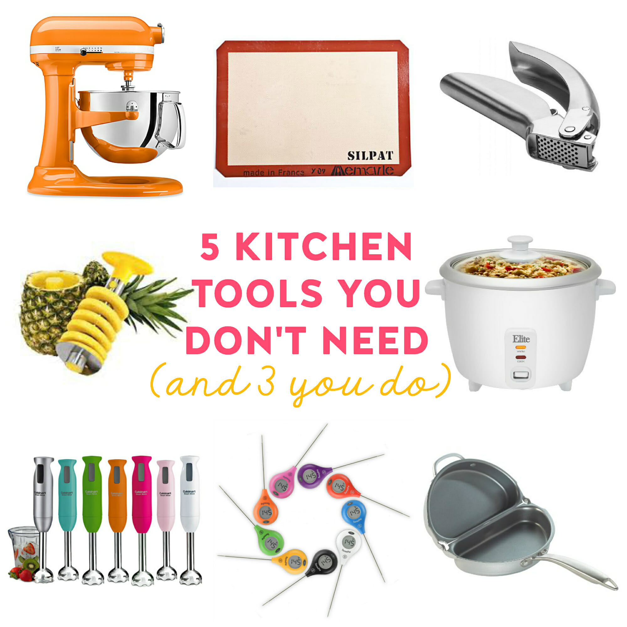 5 Kitchen Gadgets You Don\'t Need (and 3 You Do!) - Our Best Bites