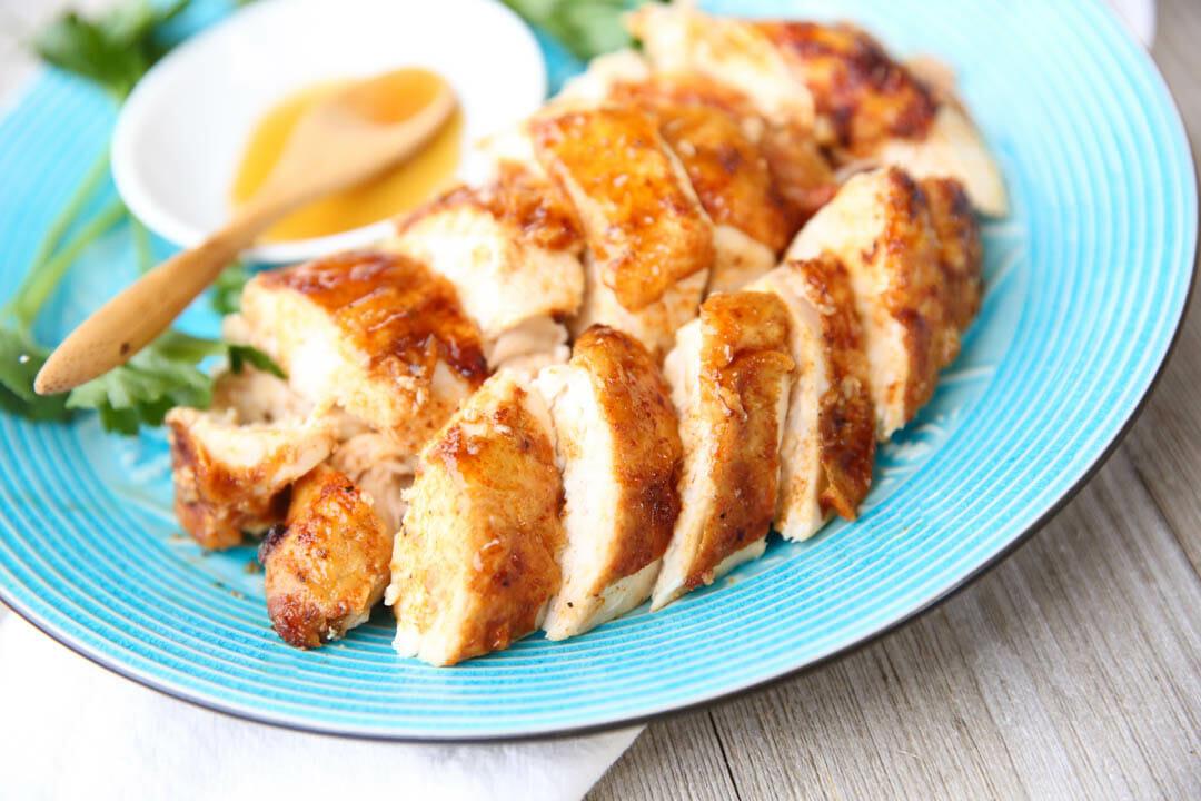 Roasted Honey Glazed Chicken
