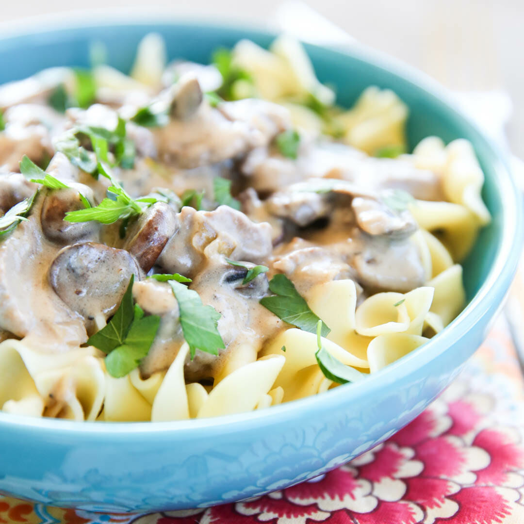 The Best Beef Stroganoff Recipe
