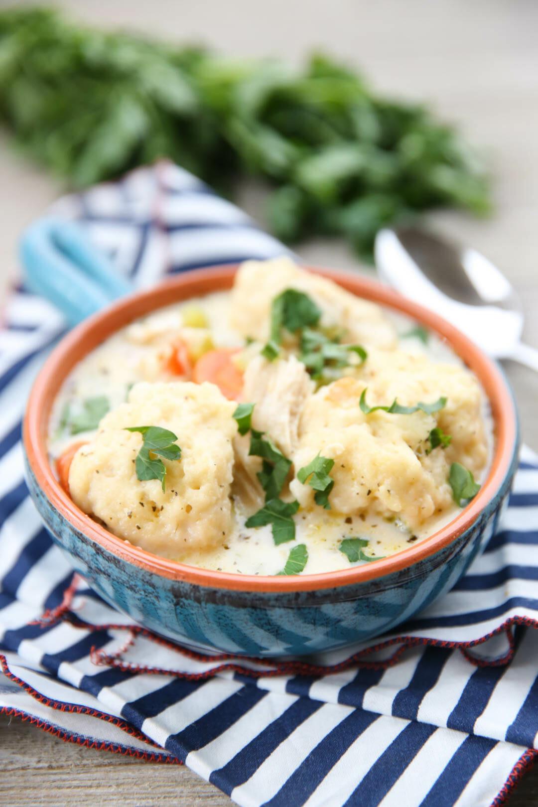 The Best Chicken and Dumpling Recipe