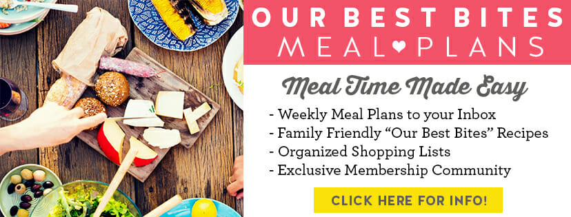 Banner for Our Best Bites Meal Plans