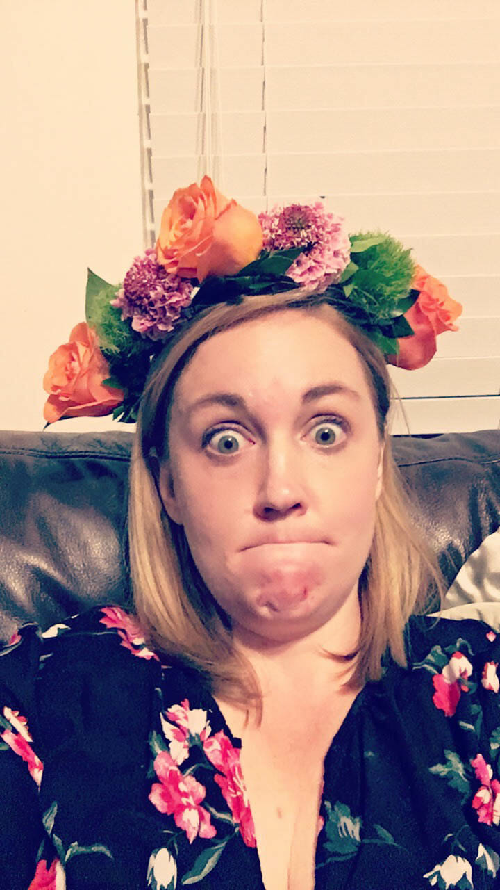 How to make a flower crown college that my dad mocked me for but has honestly come in handy more often than i can count i was able to cobble together a flower crown for her izmirmasajfo