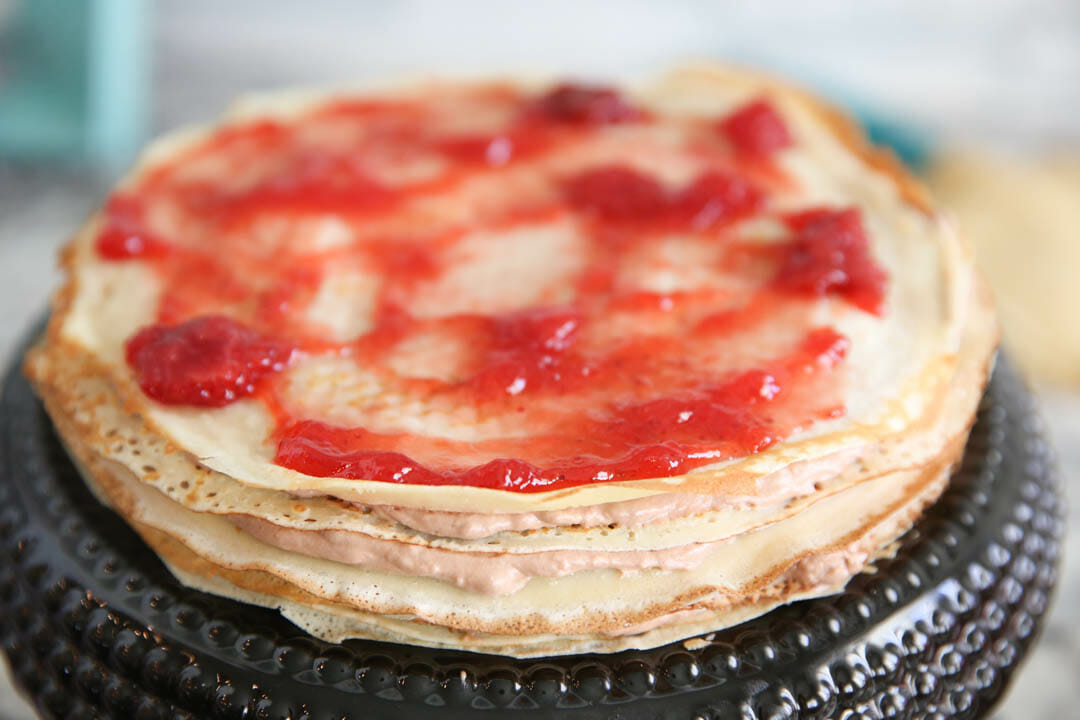 How to make a crepe cake