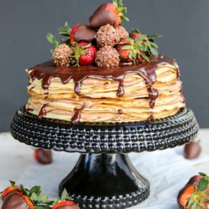 How to make a crepe cake