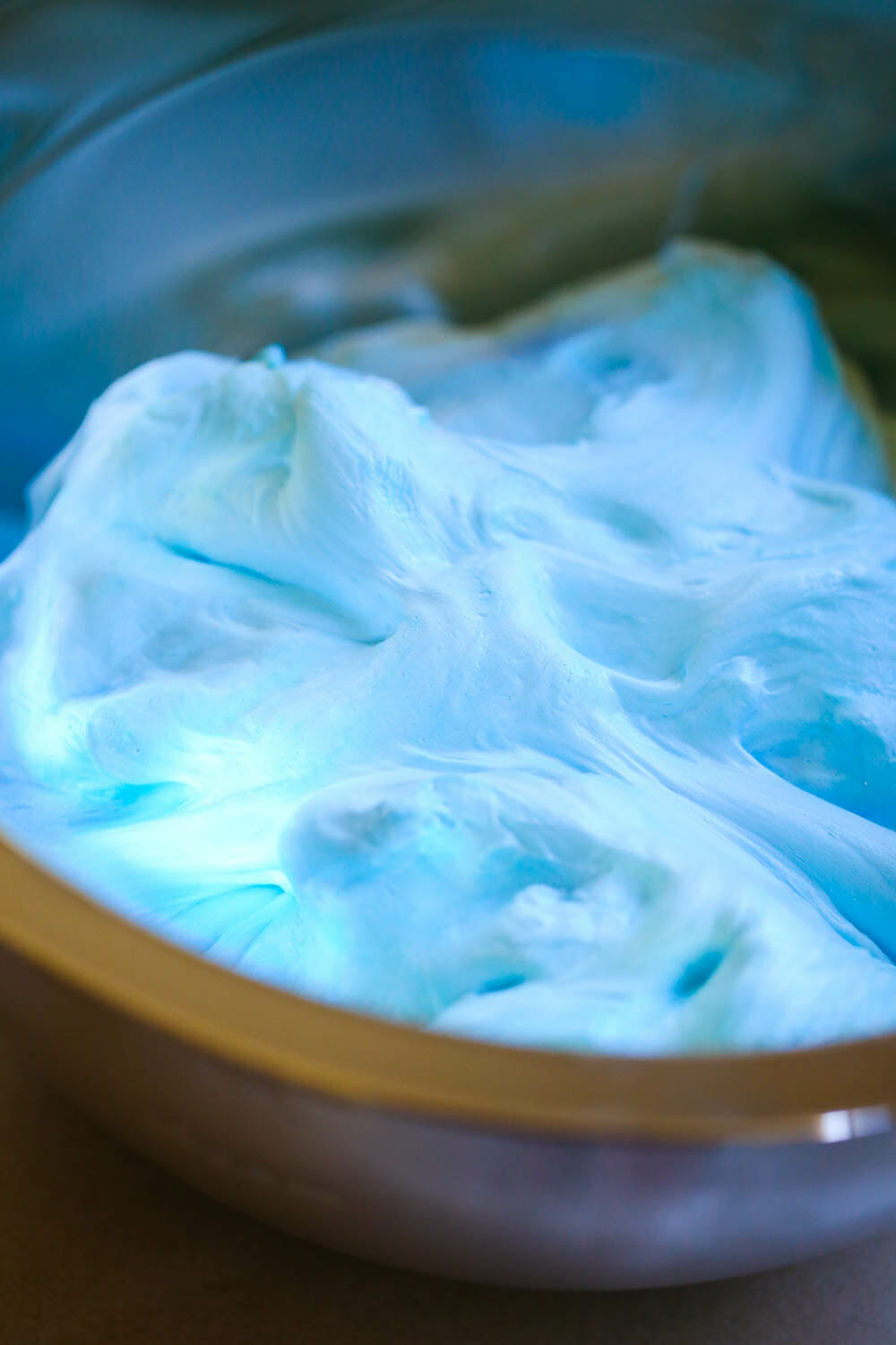 When You First Add It, The Mixture Will Seize Up, But As It Becomes How To Make  Fluffy Slime With Shaving Cream Make Ultimate