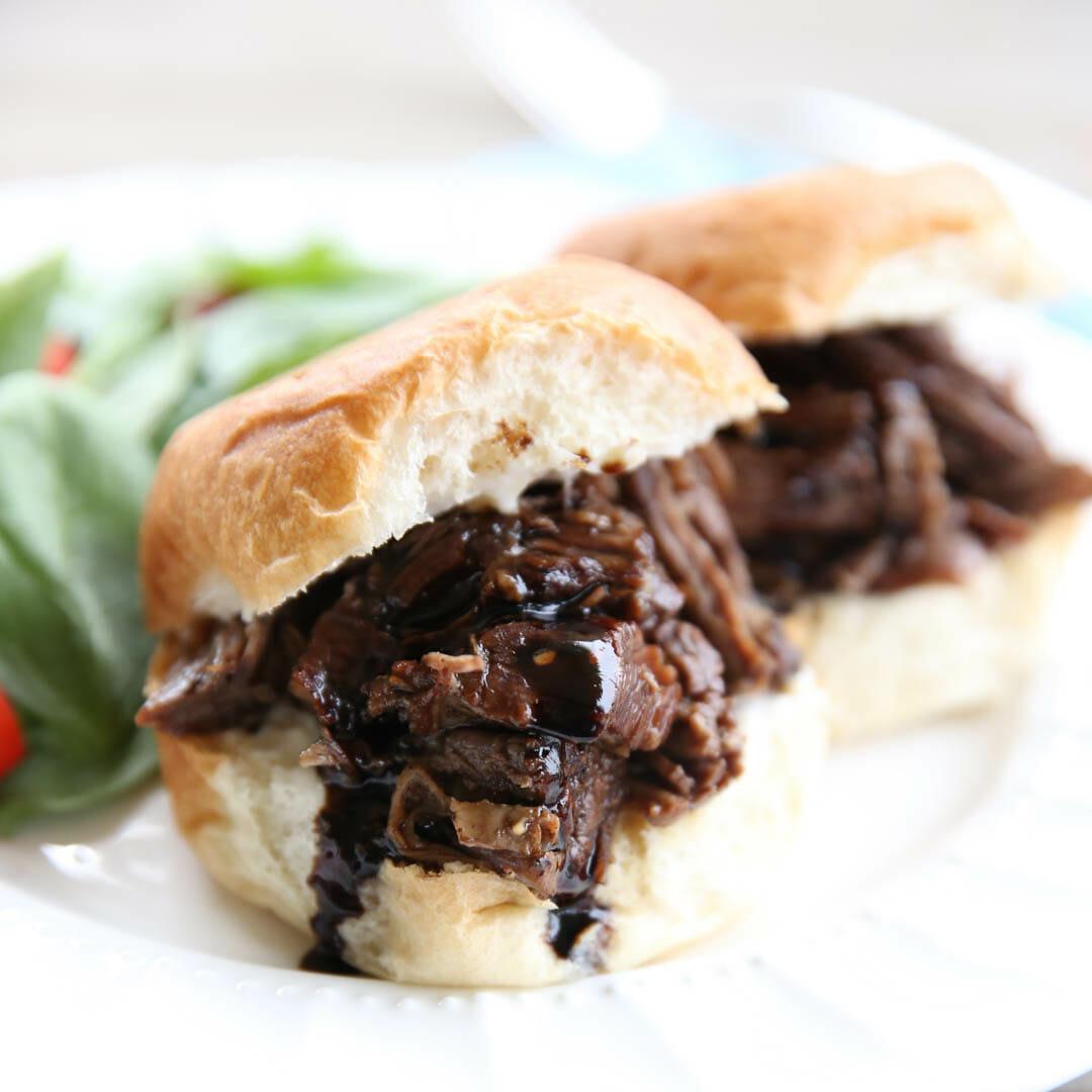 Slowcooker Balsamic Beef