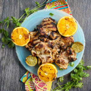 Margarita-Brined Chicken Thighs