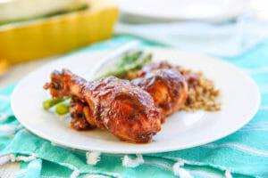 Sweet & Tangy Chicken Drumsticks