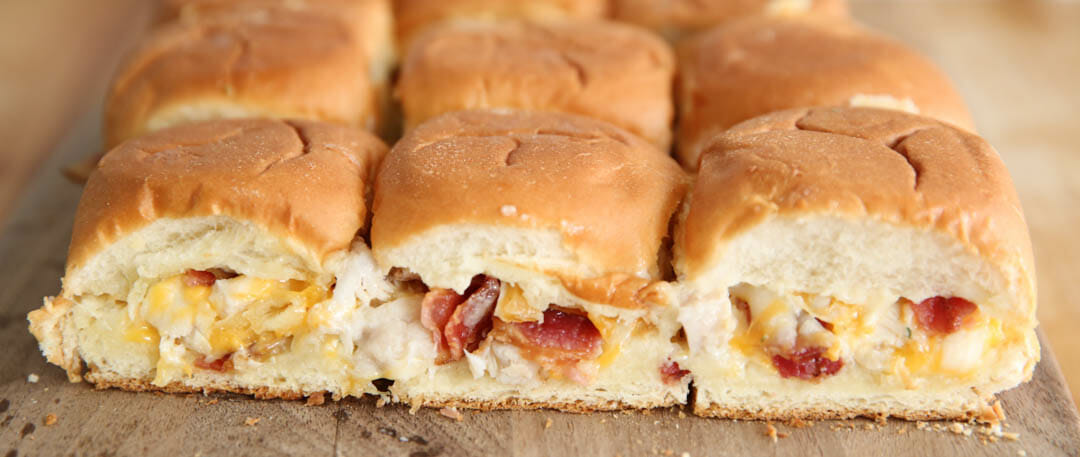 Bacon Ranch Chicken Sliders