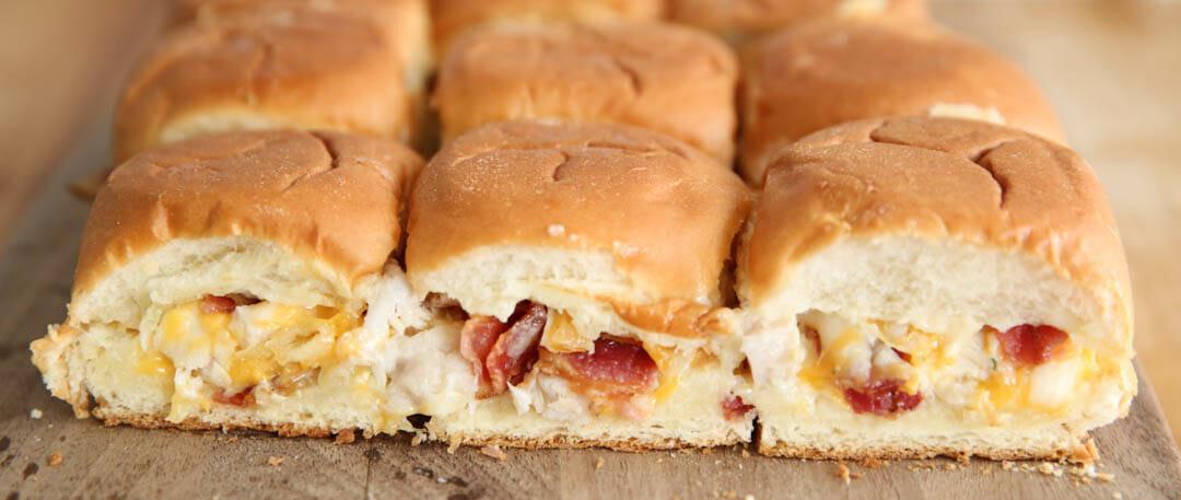 Bacon Ranch Chicken Sliders