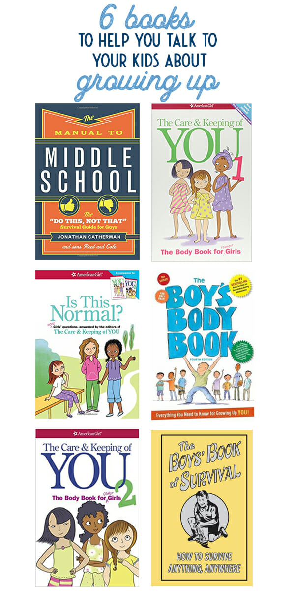 6 Books to Help You Talk to Your Kids about Growing Up