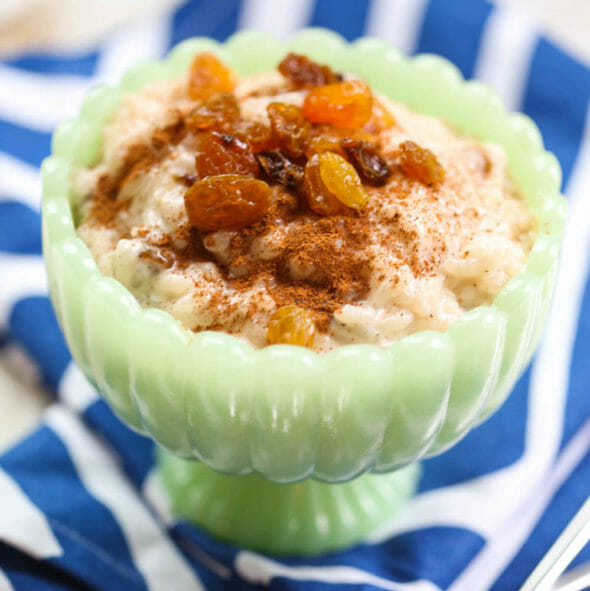 Quick & Easy Rice Pudding