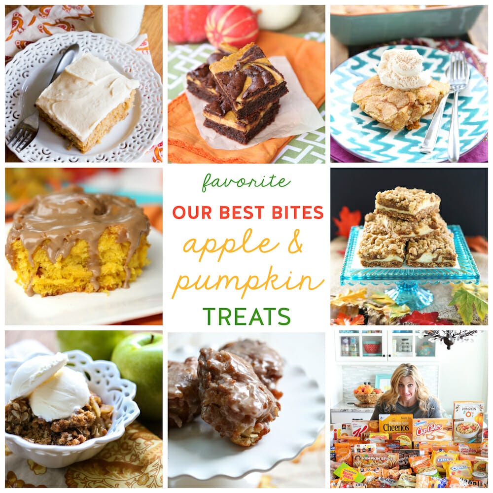 Favorite Our Best Bites Apple & Pumpkin Treats!
