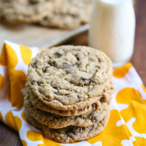 Flashback Friday: Giant Oatmeal Chocolate Chip Cookies