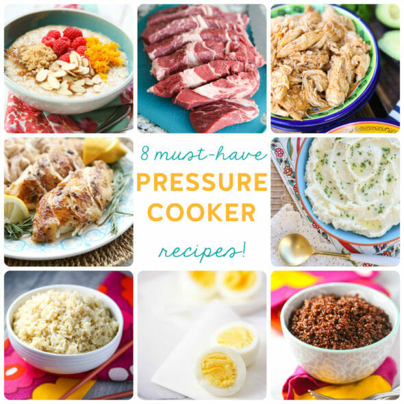 8 Must-Have Basic Pressure Cooker Recipes!