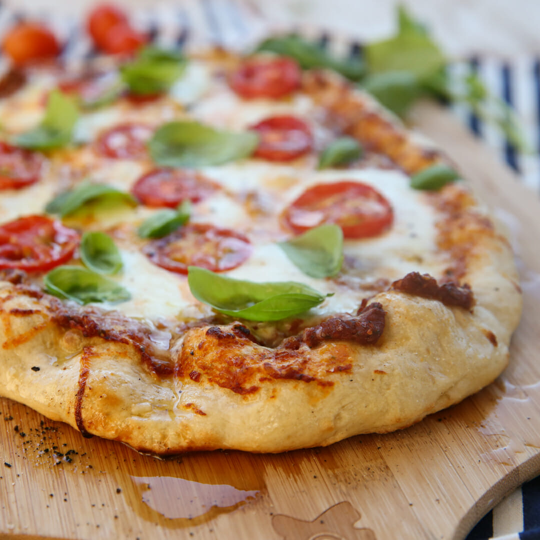 Neapolitan Pizza Crust.