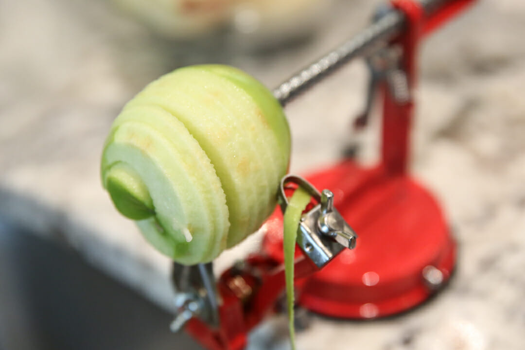 apple slicer peeler corer