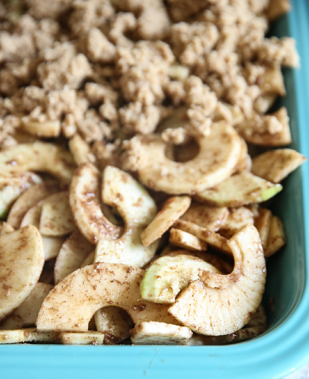 Graham Cracker Apple Crisp Recipe